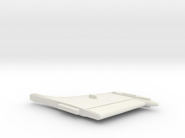 21-GIVSP-144scale-VerticalTail in White Natural Versatile Plastic