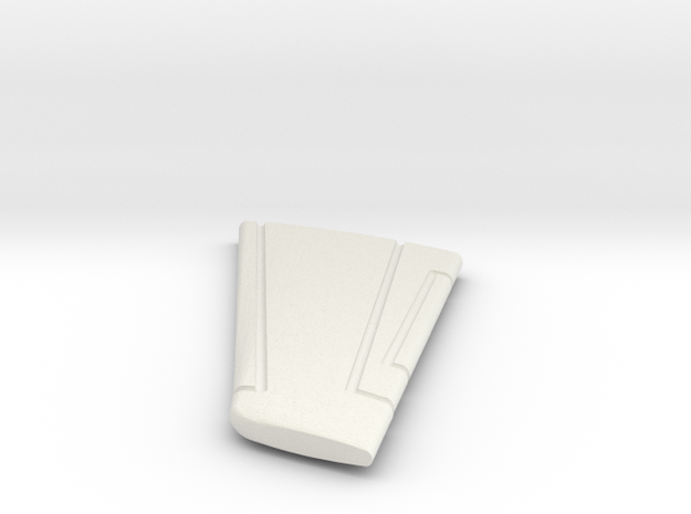 23-GIVSP-144scale-HorizTail-Portside in White Natural Versatile Plastic