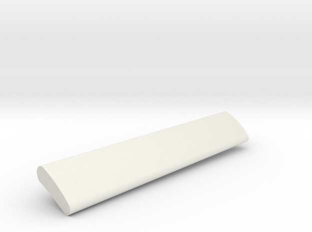 06-GIVSP-144scale-Flap-Stbdside-Extended in White Natural Versatile Plastic