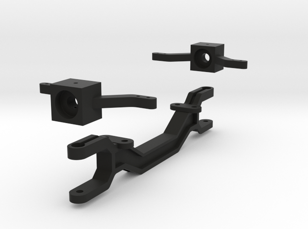 front-axle-assy in Black Premium Versatile Plastic