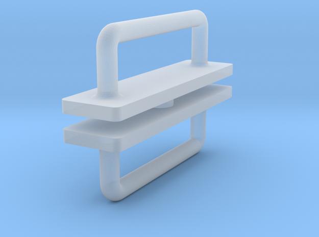 1:12 Handle (door) in Smooth Fine Detail Plastic