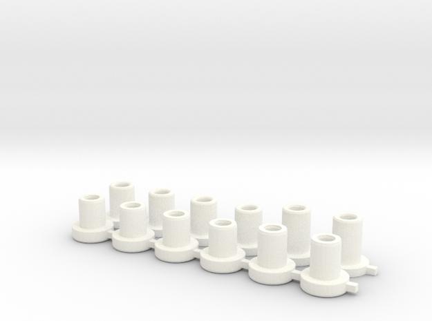 Topes De H in White Processed Versatile Plastic