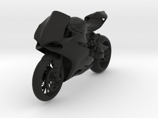 Ducati Panigale in Black Natural Versatile Plastic