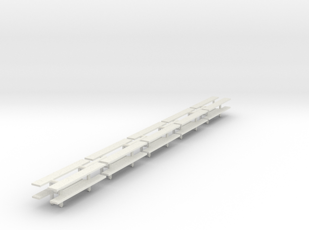 steps for wagons in White Natural Versatile Plastic