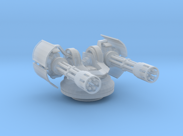 Sentry Turret  in Smooth Fine Detail Plastic