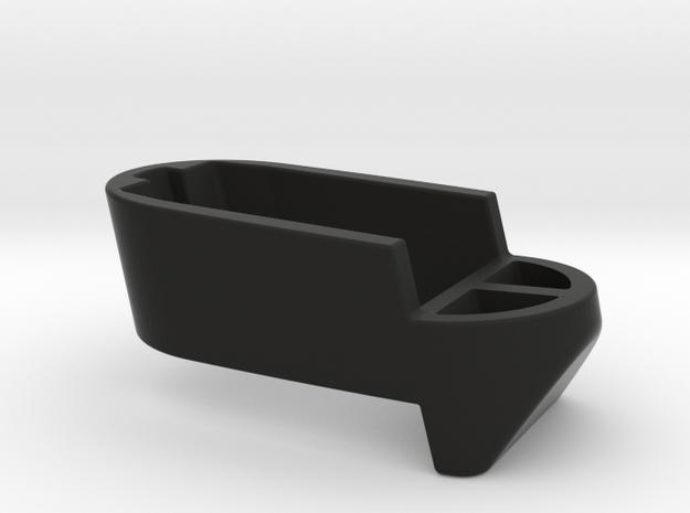 Spacer-MP9c-15_2.0 in Black Natural Versatile Plastic