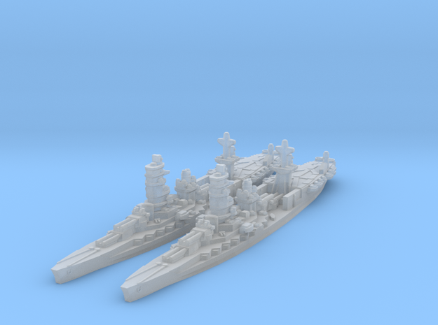 Ise Hybrid Battleship Carrier in Smooth Fine Detail Plastic