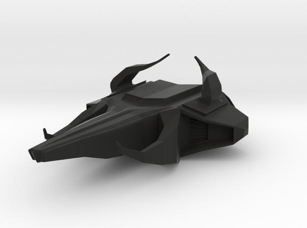 Bull Breaker - SpaceShip from Hell in Black Natural Versatile Plastic