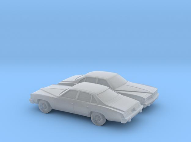 1/160 2X 1976 Pontiac Grand LeMans Sedan
