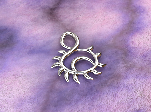 Sunset in Polished Silver