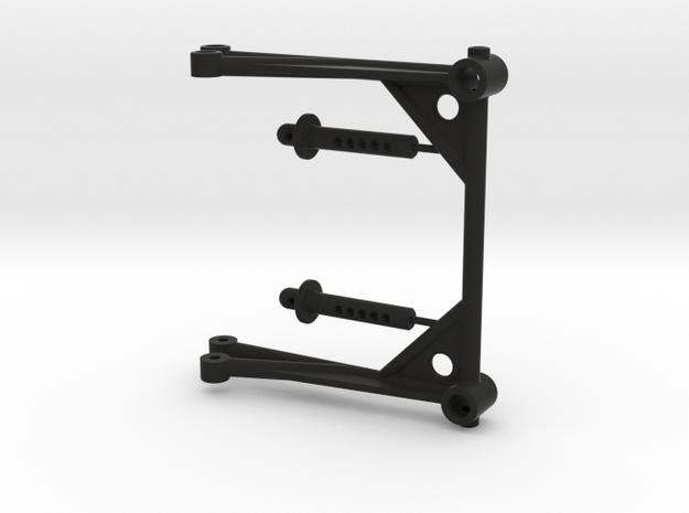 JConcepts - ZRP body mount in Black Natural Versatile Plastic