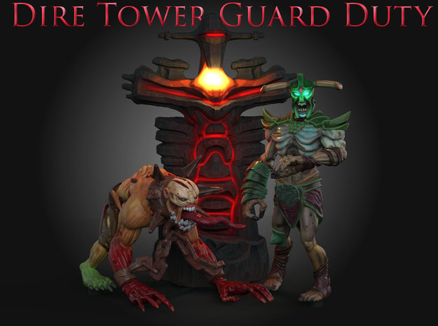 DireTowerGuardDuty: Stand in Full Color Sandstone