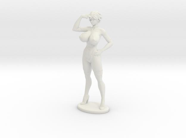 Aimsee Standing 8'' Versatile Plastic in White Natural Versatile Plastic
