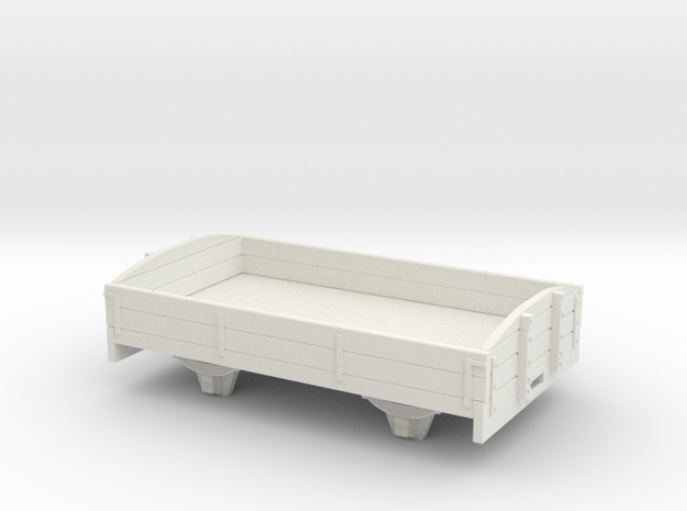 1:32/1:35 2 plank dropside long ce  in White Natural Versatile Plastic