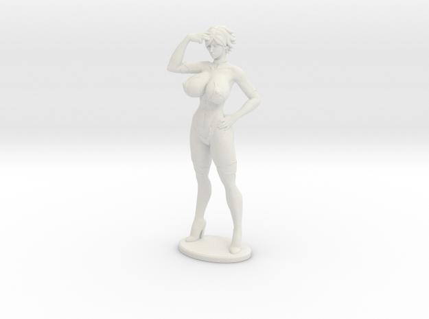 Aimsee Standing 6'' Versatile Plastic in White Natural Versatile Plastic