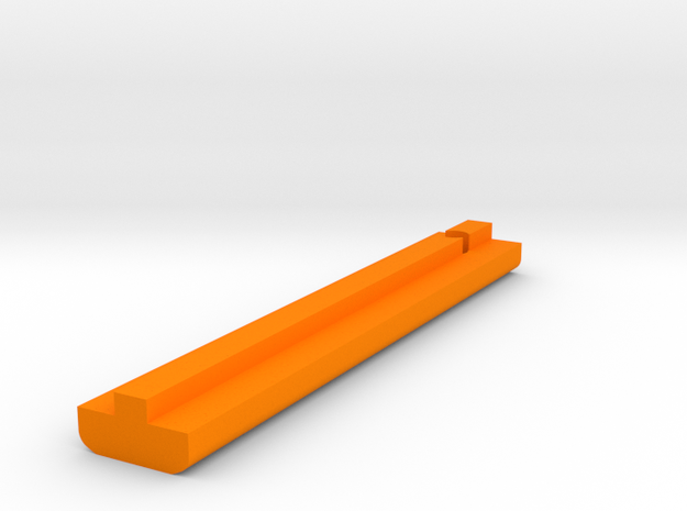 Rail Track-Stop, Z401 (Beneteau & Jeanneau, etc ) in Orange Processed Versatile Plastic