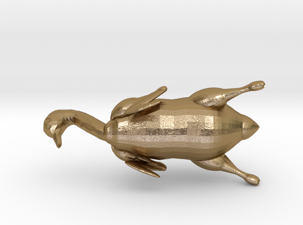 Roasted Chinese Duck - London Design Biennale 2018 in Polished Gold Steel: Small