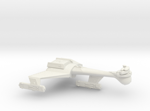 3788 Scale Romulan K9R Dreadnought WEM in White Natural Versatile Plastic