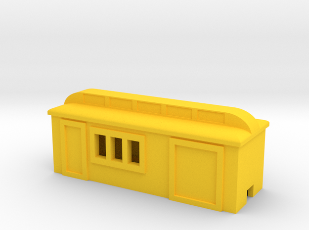 Colorado Southern Combine in Yellow Processed Versatile Plastic