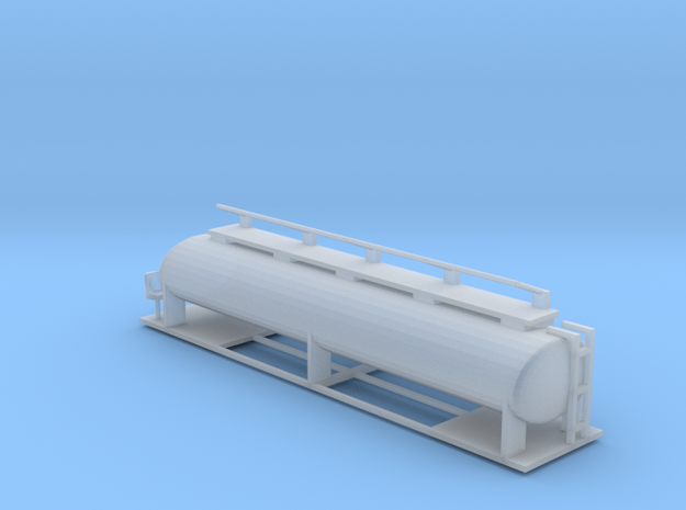 Ffestiniog Rly bogie water/oil tanker  in Smooth Fine Detail Plastic