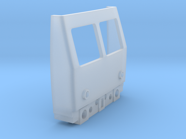 OO Gauge Class 105/129 Cab in Smooth Fine Detail Plastic