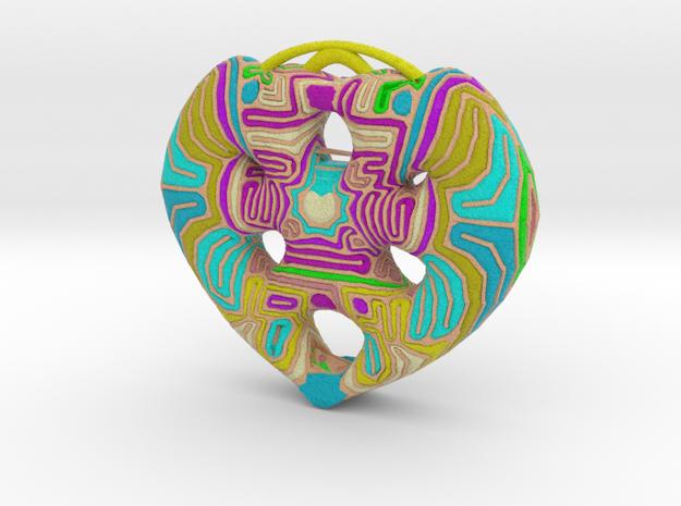 Heart 3 in Full Color Sandstone