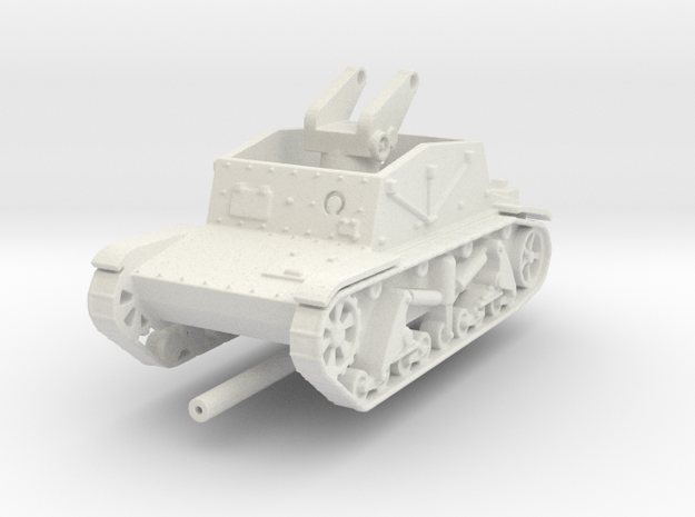 SU-6  1:87 in White Natural Versatile Plastic