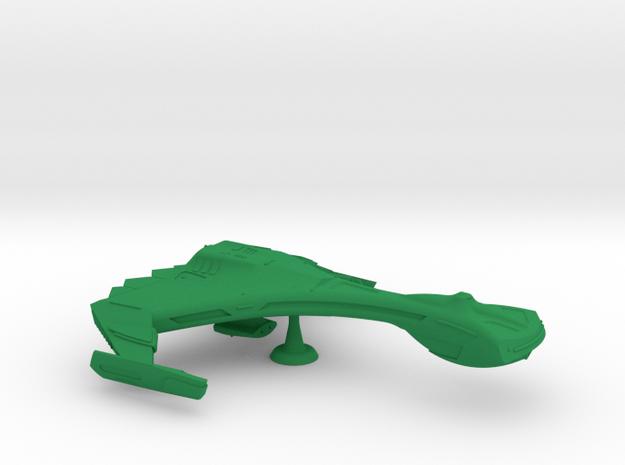 R'Lentless Class Battlecruiser - 1:7000 in Green Processed Versatile Plastic
