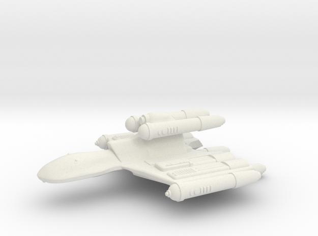 3125 Scale Romulan MegaHawk Dreadnought MGL in White Natural Versatile Plastic