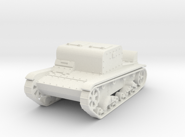 T-26T  1:87 in White Natural Versatile Plastic
