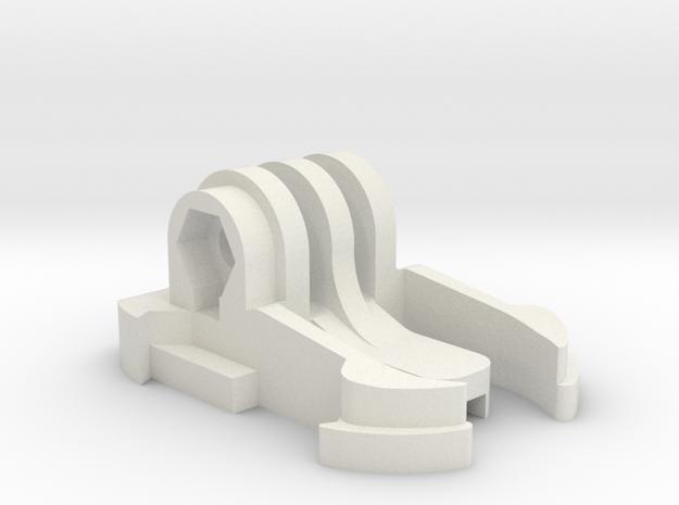 Turnigy / GoPro Clip in White Natural Versatile Plastic