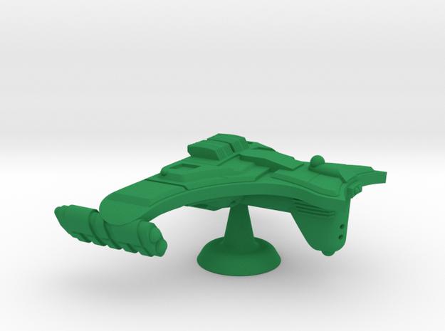 Ramoran D'Mage Tactical Cruiser - 1:7000 in Green Processed Versatile Plastic
