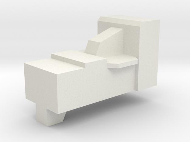 Optimus Gun Filler in White Natural Versatile Plastic