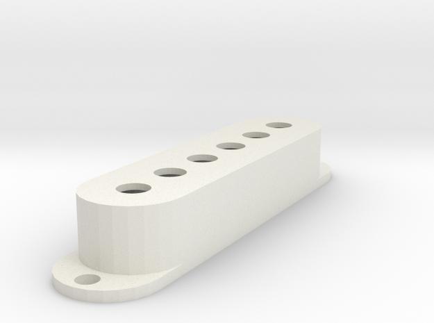 Strat PU Cover, Single, Classic in White Premium Versatile Plastic