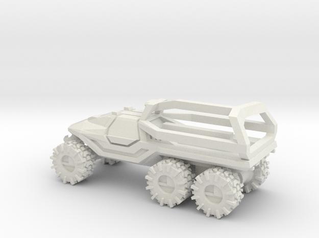 ATV 1 to 144 6x6 solid enclosed crew area ROPs in  in White Natural Versatile Plastic