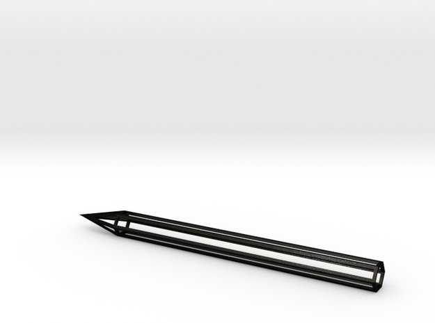 VOID pen in Matte Black Steel