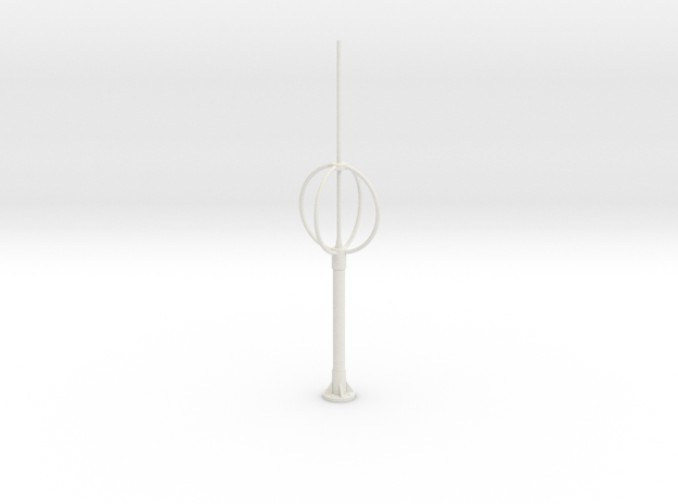 direction finder , Peilantenne 1:35 in White Natural Versatile Plastic