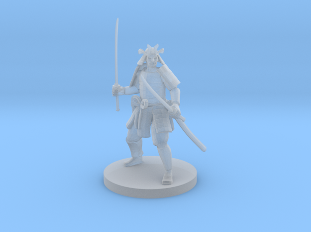 Samurai in Smooth Fine Detail Plastic