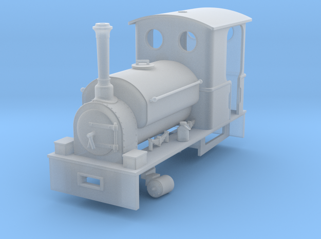 RAR Culverin Adapted in Smooth Fine Detail Plastic: 1:43.5