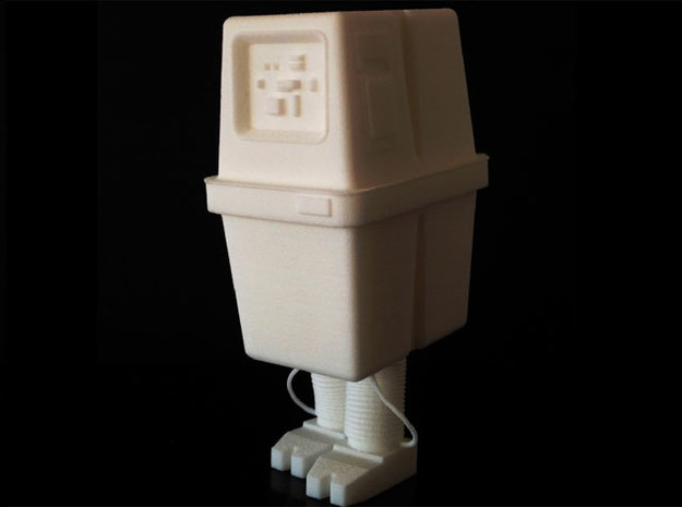 "Gonk (3"" tall) 3d printed"