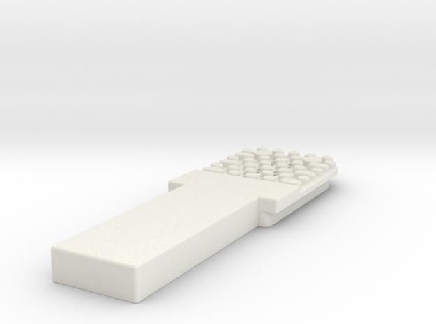 1000266462 Rev 01 in White Natural Versatile Plastic