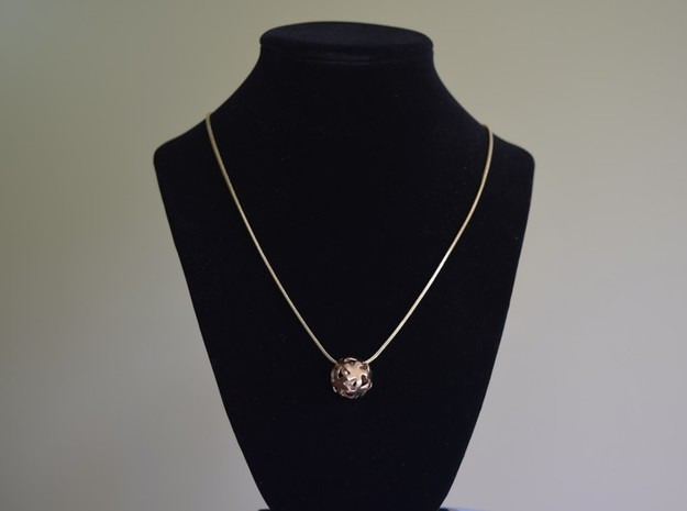Starhub pendant necklace in Natural Bronze