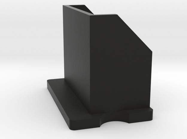 Preston HU-3 Sunshade (straight) in Black Natural Versatile Plastic