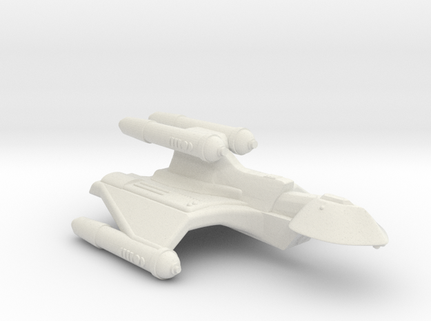 3788 Scale Romulan SuperHawk-K+ Command Cruiser MG in White Natural Versatile Plastic