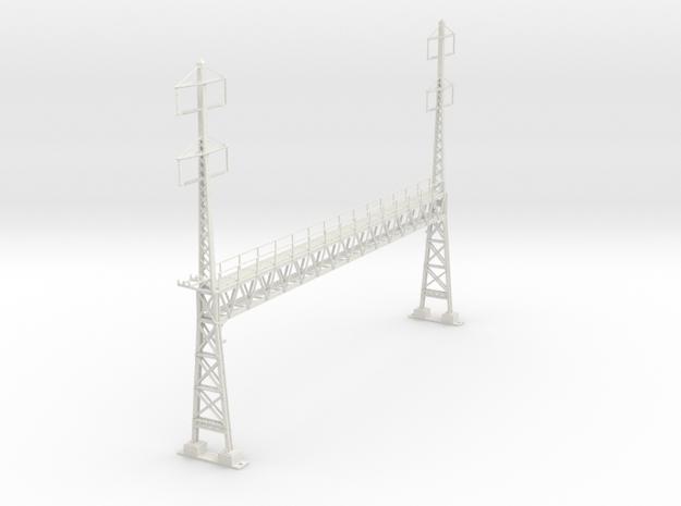PRR LARGE 2phase/2phase ANCHOR BRIDGE custom  in White Natural Versatile Plastic