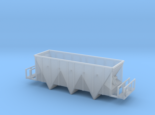 Aggregate Gondola III - Zscale in Smooth Fine Detail Plastic