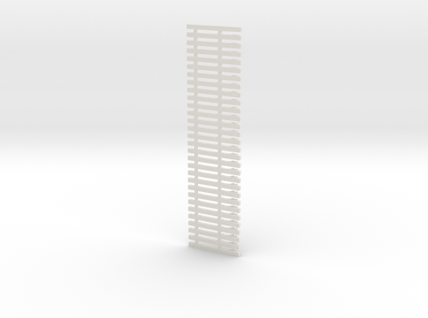 support de 3eme rail sncf in White Natural Versatile Plastic