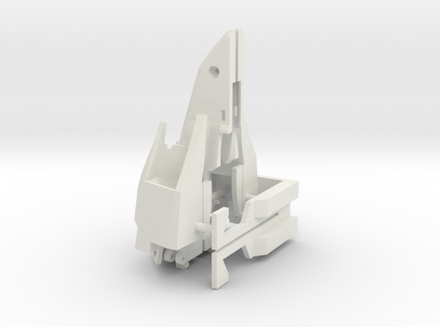 Air Intakes for VF-2SS in White Natural Versatile Plastic