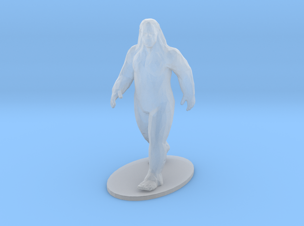 Big Foot (10 Scale Feet) in Smoothest Fine Detail Plastic: 1:160 - N