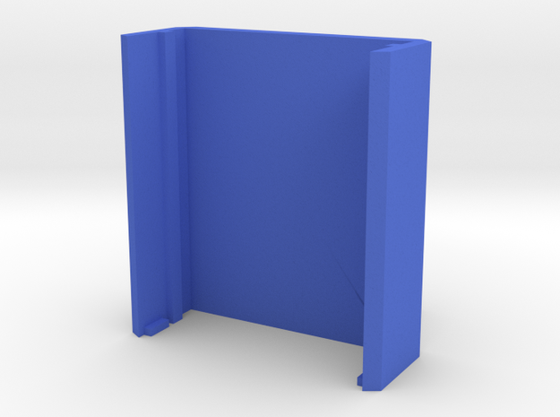 PureThermal 2 Case - Part 2/2 in Blue Processed Versatile Plastic
